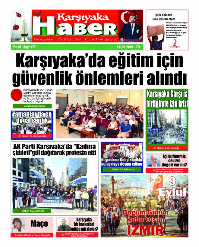 Karşıyaka Haber Gazetesi Eylül 2019