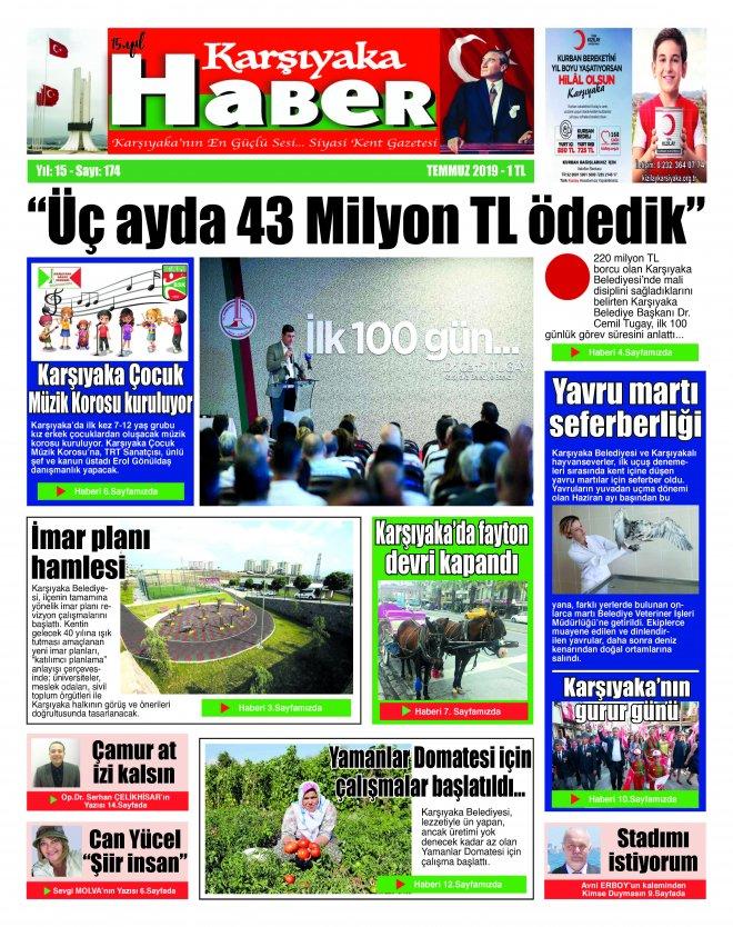 Karşıyaka Haber Gazetesi Temmuz 2019
