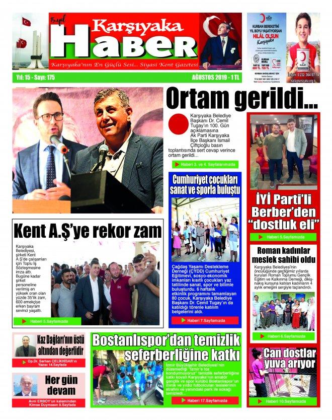 Karşıyaka Haber Gazetesi Ağustos 2019