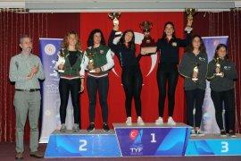 KSK'li yelkencilerden Türkiye Şampiyonası'nda üç kupa
