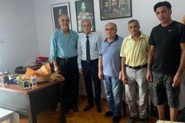 Karşıyaka Müftüsü Gürler, Cem Evi Başkanını ziyaret etti