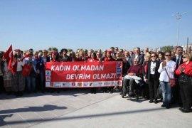 Karşıyaka'da 8 Mart buluşması