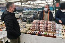 Tarım Müdürü Üngür Organik Pazarı denetledi...