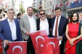 Atatürk'ün Karşıyaka'ya ziyaretinin yıldönümü kutlanıyor...
