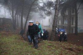 Tunç Soyer Yamanlar Dağı'nda incelemeler yaptı...