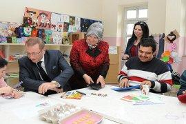 Çalışır'lar, 23 Yaş Üstü Engellileri ziyaret etti