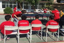 Karşıyaka Masa Tenisi Turnuvası yapıldı...