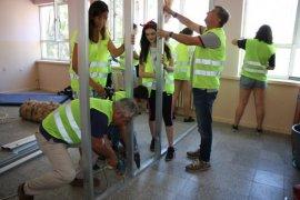 Mavişehir Rotary, Lamia Karer Ortaokulu'nun tadilatına başladı