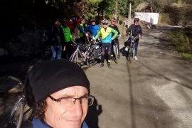 Bostanlıspor'un bisikletcileri Altınvadi'yi keşfetti...