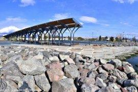 Bostanlı kıyı düzenlemesi projesinde sona gelindi
