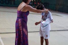 Bostanlıspor'un tenis turnuvasında şampiyonu Yüce…