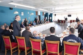 Başkan Akpınar ilçe protokolü ile helalleşti...