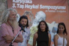 Karşıyaka'da Taş Heykel Sempozyumu sona erdi