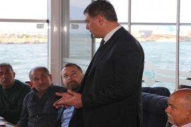Dr. Cemil Tugay Karşıyaka'nın Amatör Futbol Kulüpleriyle bir araya geldi