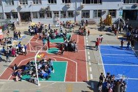 Türkbirliği İlkokulu'nda şemsiye etkinliği büyük ilgi gördü