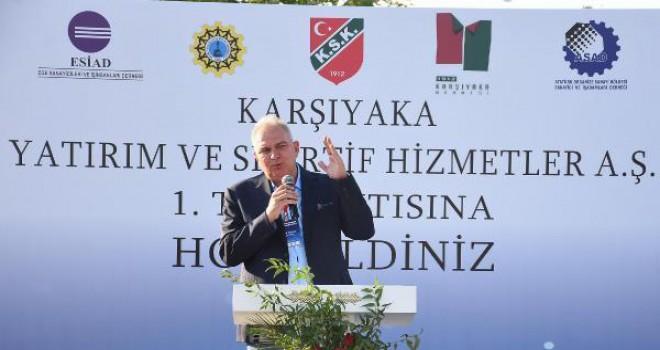 Karşıyaka'nın şirket projesi beklemede