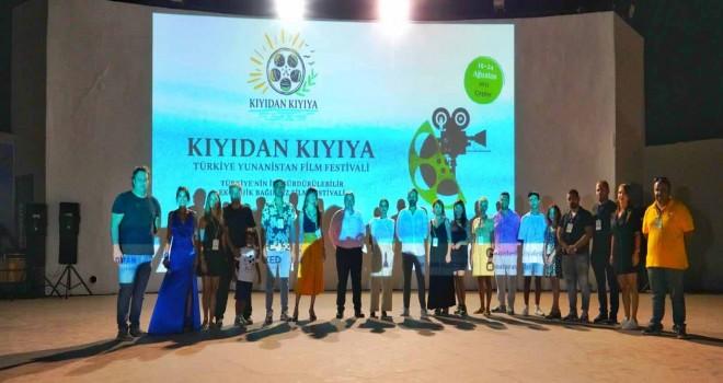 Kıyıdan Kıyıya Türkiye-Yunanistan  Film Festivali büyük bir coşkuyla başladı