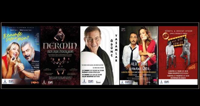 İzmir'de ilçelerde ücretsiz tiyatro gösterimleri başlıyor