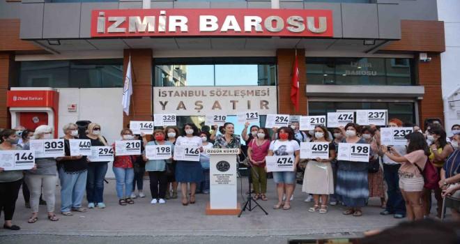İzmir Barosu: İstanbul Sözleşmesi Yaşatır
