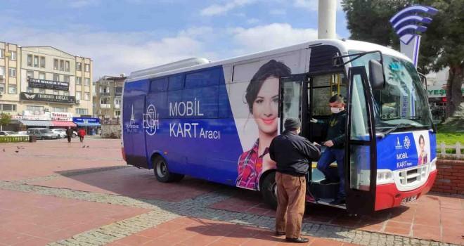 İzmirim Kart Mobil Hizmet Aracı hizmete başlıyor