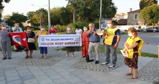 Efes Selçuklu kadınlardan şiddete karşı direnme sözü