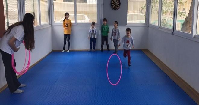 Bostanlıspor cimnastikte yeni yetenekler arıyor...