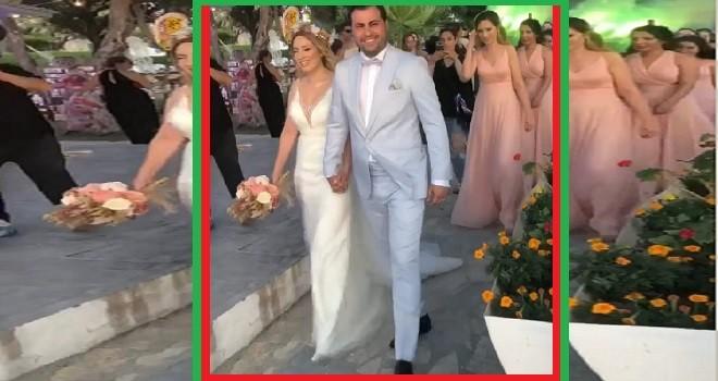 Karşıyakalı Cüneyt Başak oğlunu evlendirdi...