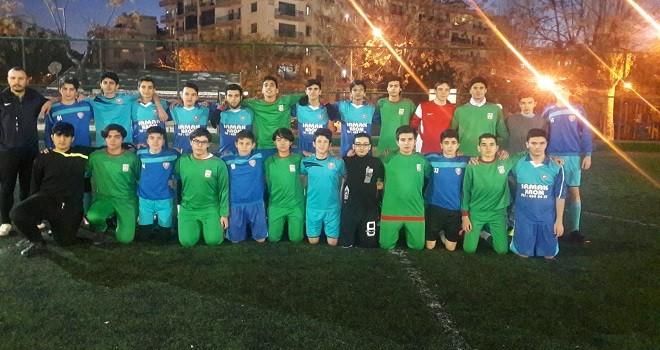 Dostluk maçını Mavişehir 79 Yıldız kazandı