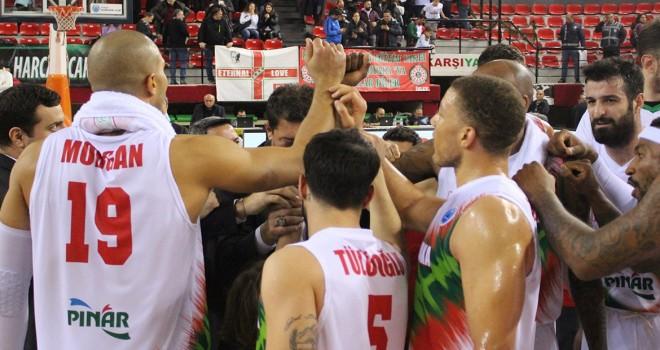 Pınar Karşıyaka çeyrek finalde BC Kyiv Basket ile eşleşti