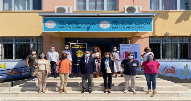 Karşıyaka Rotary Kulübü Toplum Birliği Okulları yeni eğitim öğretime hazır
