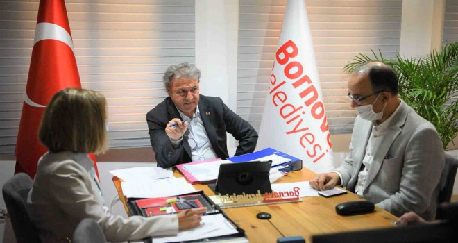 Çevreci bir Bornova'ya 130 bin Euro'luk proje