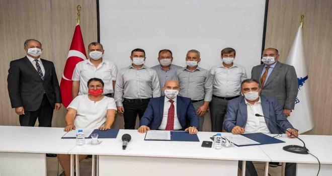 Süt Kuzusu projesi için süt alım sözleşmesi imzalandı