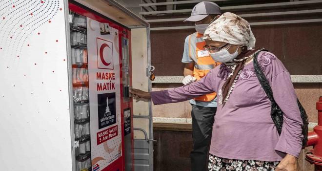 Büyükşehir ilçe belediyelerine 140 bin adet maske gönderecek