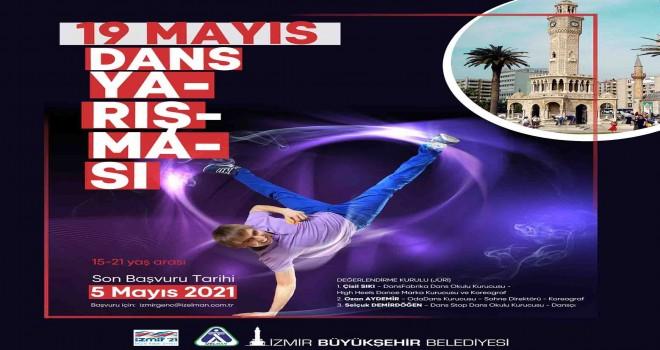 İzmir Büyükşehir Belediyesi'nden 19 Mayıs dans yarışması