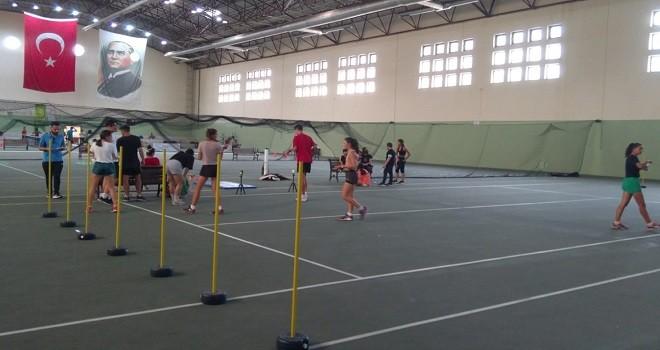 TOHM Sporcuları Karşıyaka'da testten geçti