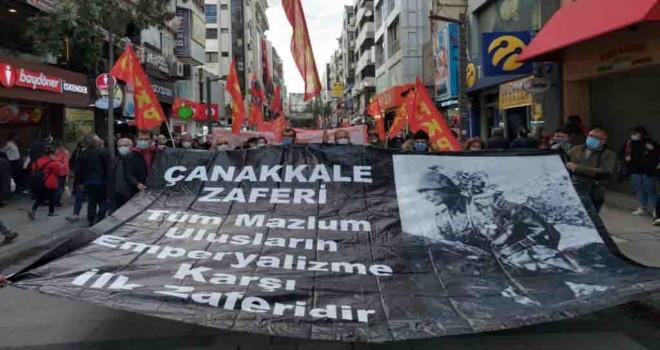 Halkın Kurtuluş Partisi'nden Karşıyaka'da 18 Mart yürüyüşü