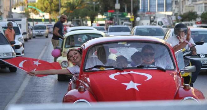 Kadın Vosvoscular'dan Karşıyaka'da Zafer turu