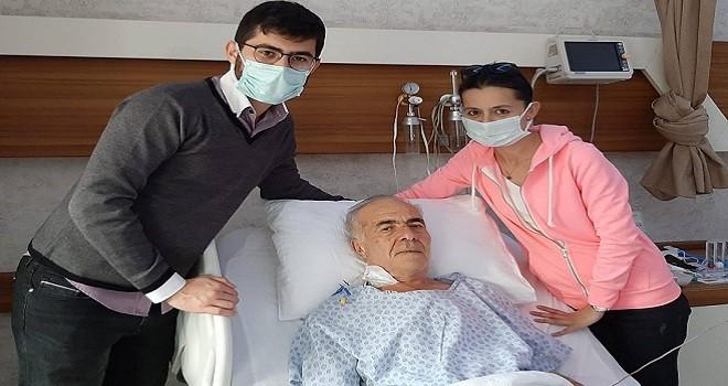 Muhtar Zenginer, başarılı bypass ameliyatı oldu