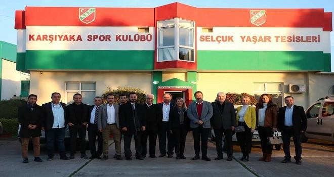 Ak Parti Başkan Adayı Maç, KSK'yi ziyaret etti