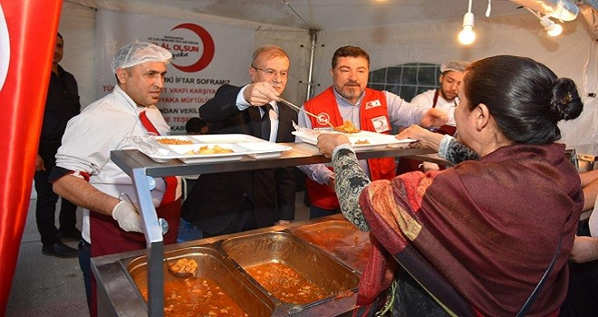 Kızılay Karşıyaka'da 29 gün iftar verecek