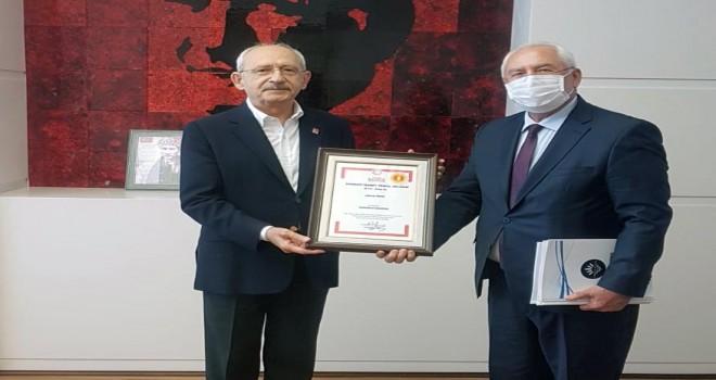 Başkan Selvitopu, Kılıçdaroğlu'nu ziyaret etti