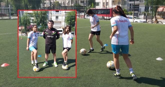 Kadınlarımıza çağrı: Gelin futbol oynayalım