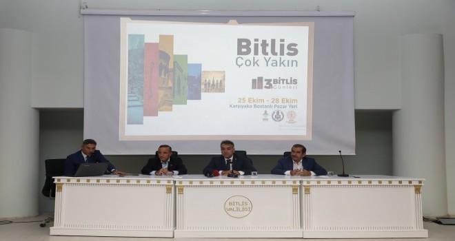 3.Bitlis Günleri 25-28 Ekim'de Karşıyaka'da...