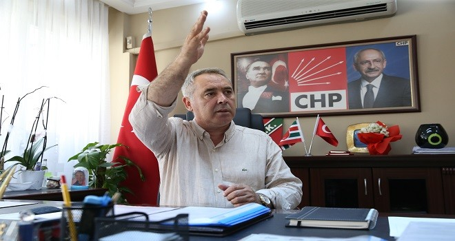 CHP Başkanı Koç: Mavişehir'de zemin çöktü!