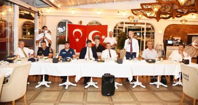 Karşıyaka Protokolü Cem Vakfı yöneticileri ile iftarda buluştu
