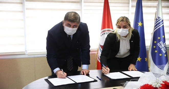 Kent AŞ'de sözleşme imzalandı