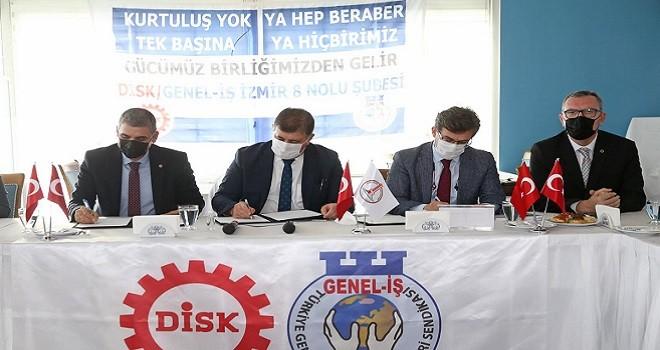 Karşıyaka Belediyesi Personel A.Ş. ile sözleşme  imzaladı