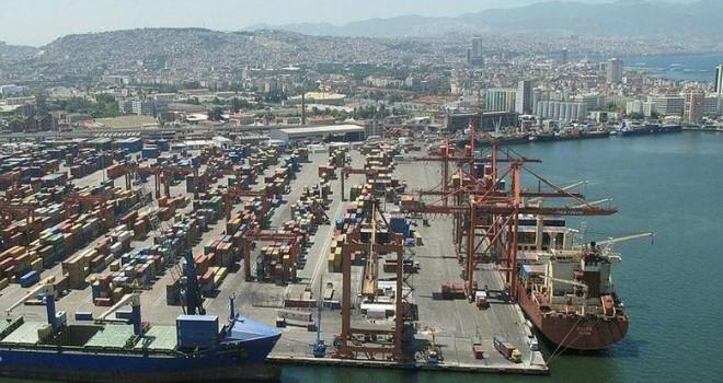 İzmir'de Ocak ayında ihracat ve ithalat azaldı