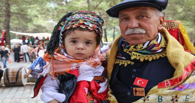 Yörük ve Türkmen geleneği Buca'da yaşatıldı