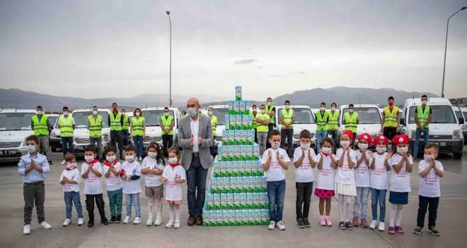 İzmir'in ''süt kuzuları'' 156 bini geçti